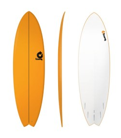 Fish Wellenreitboard