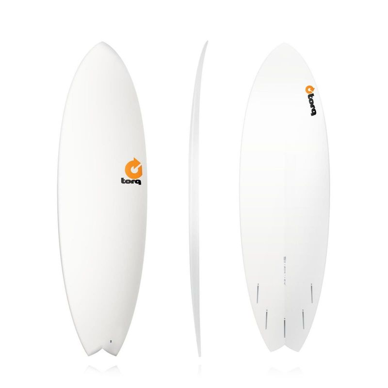 Surfboard TORQ Epoxy TET 5.11 Fish white