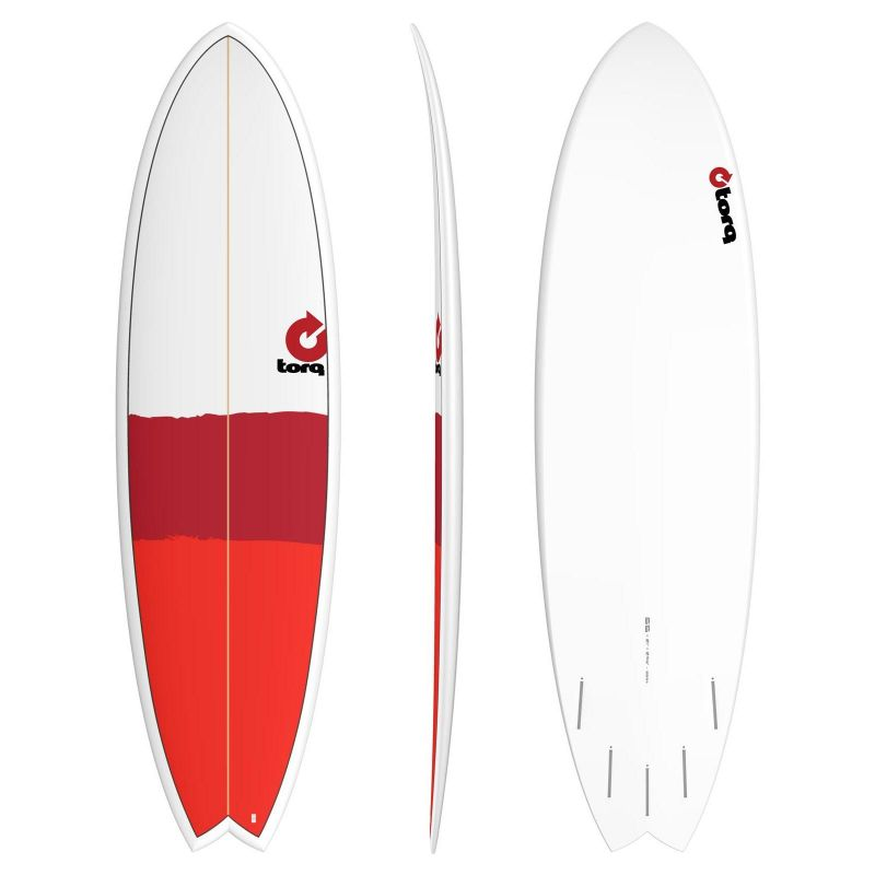 Surfboard TORQ Epoxy TET 6.6 Fish new classic