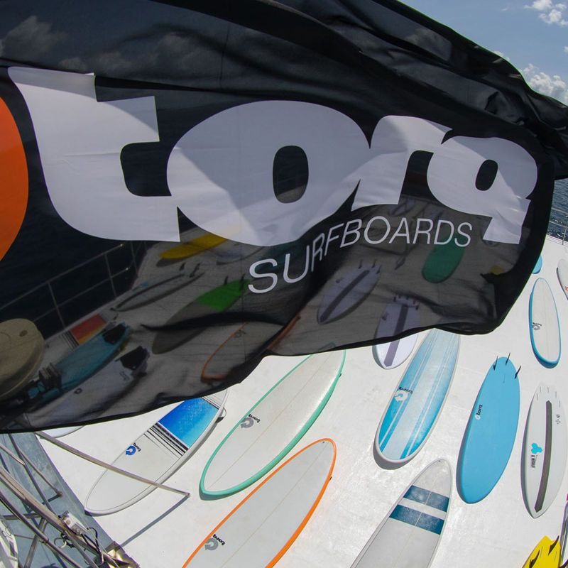 Surfboard TORQ Epoxy TEC Performance Fish 5.8