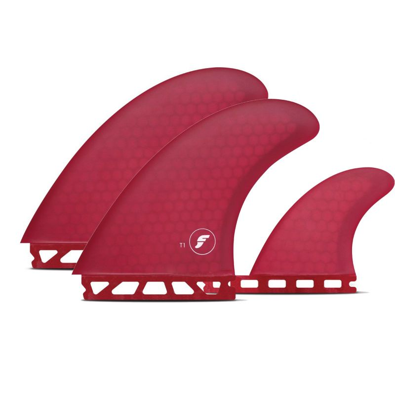 FUTURES Twin Fin Set T1 Honeycomb
