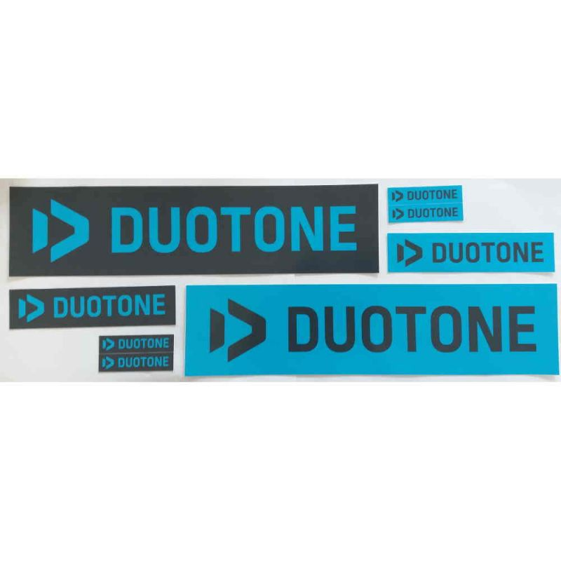 Duotone Logo Sticker