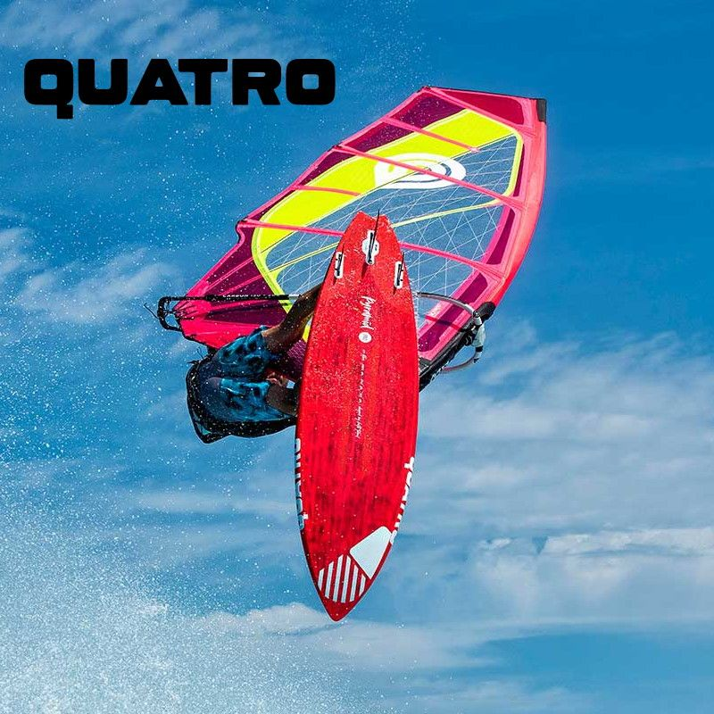 Quatro Windsurf und SUP Boards