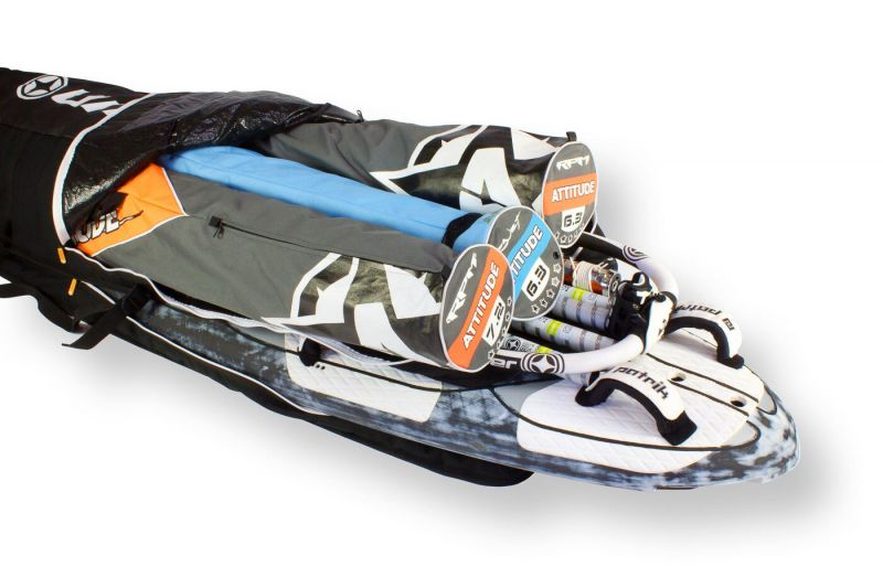 Unifiber Blackline Roofrack Board-Quiver Bag
