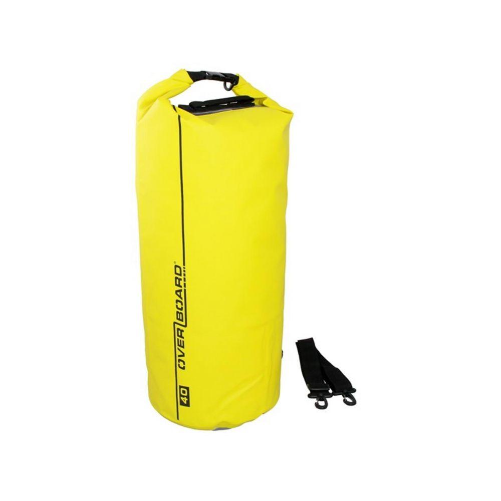OverBoard wasserdichter Packsack 40 Liter Gelb