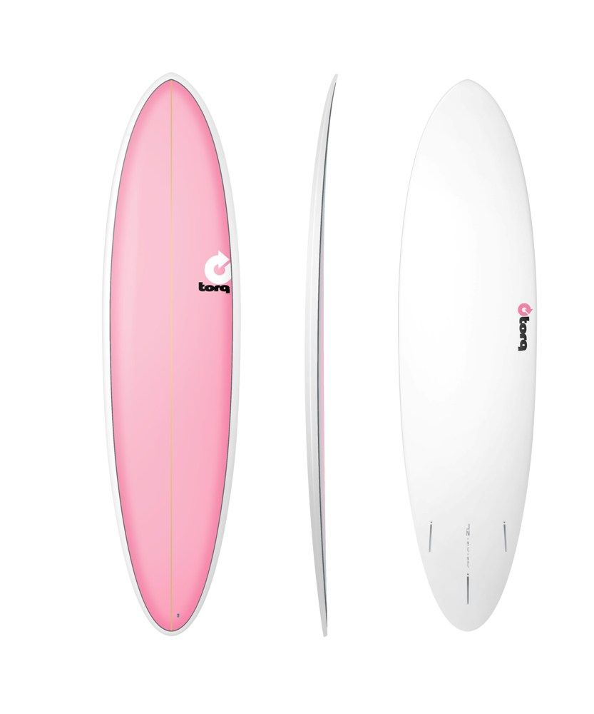 Surfboard TORQ Epoxy TET 7.2 Funboard  Pink