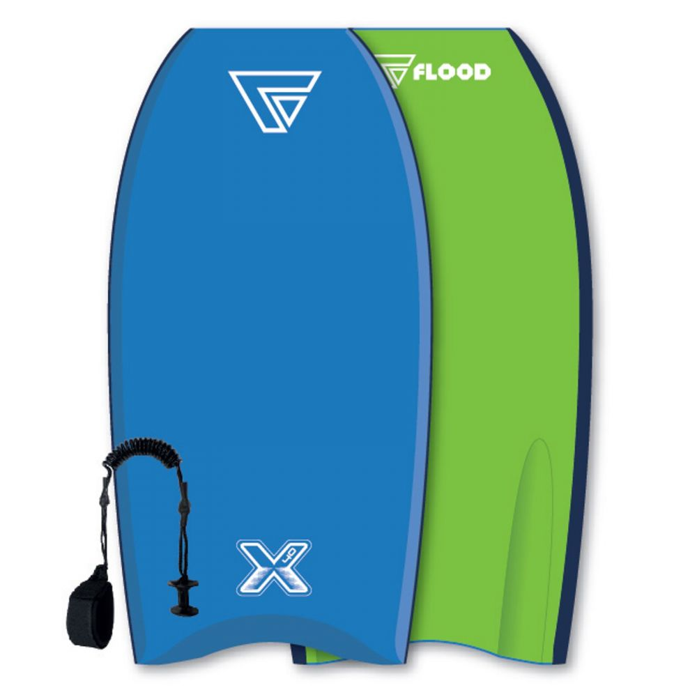 FLOOD Bodyboard Dynamx Stringer 40 Blau-Gr�n