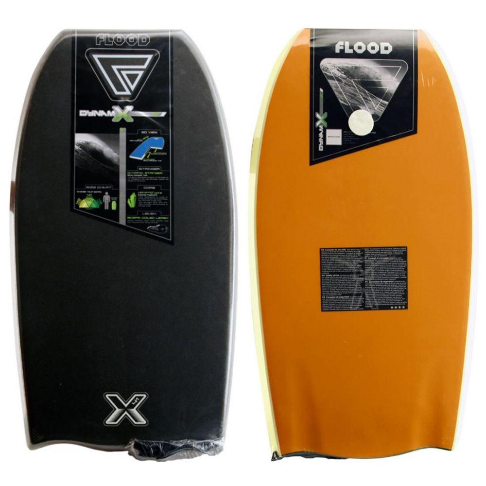 FLOOD Bodyboard Dynamx Stringer 41 Orange-Grau