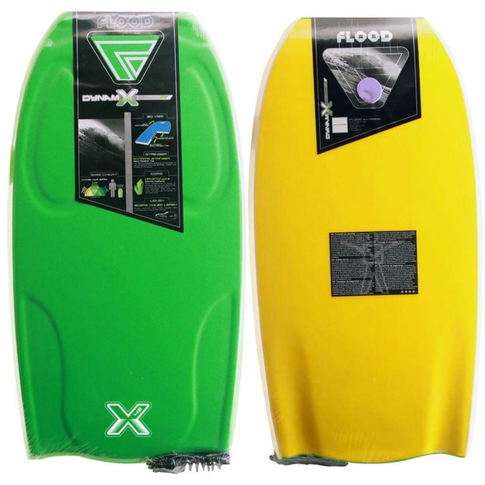 FLOOD Bodyboard Dynamx Stringer 42 Gr�n-Gelb