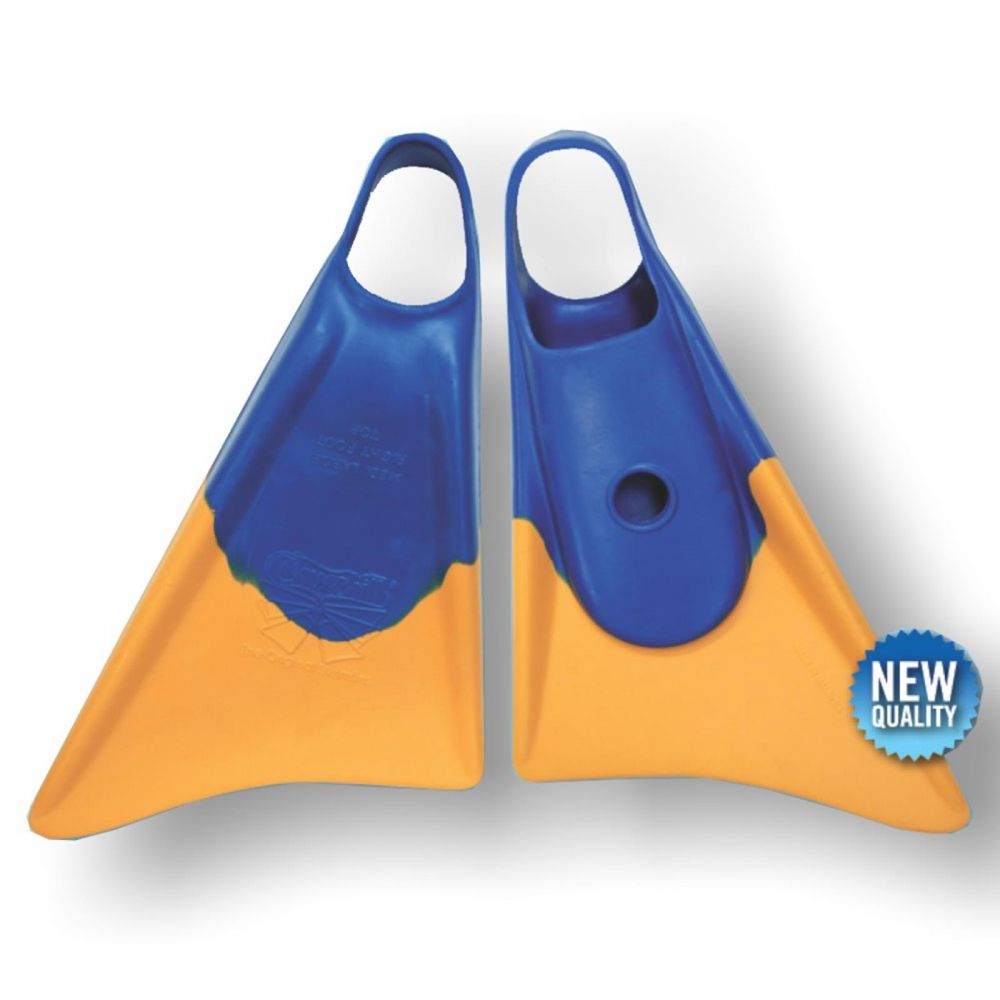 Bodyboard Flosse CHURCHILL Makapuu XL Blue Yellow