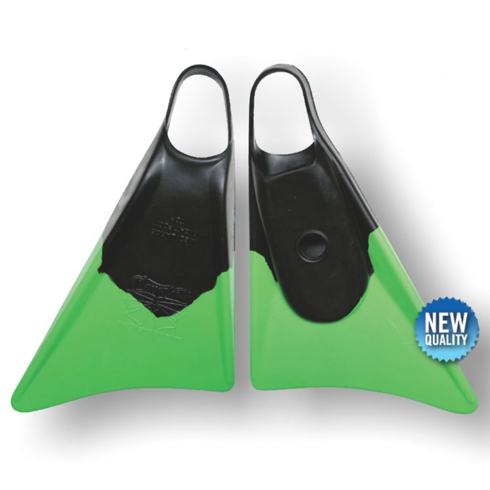 Bodyboard Flossen CHURCHILL Makapuu M Black Green
