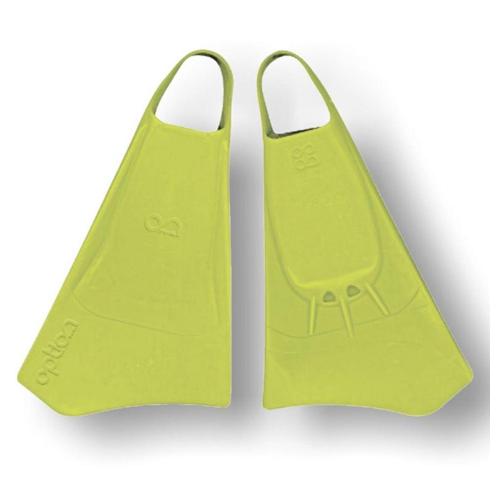 Bodyboard Flossen OPTION  S  38-40 Lime