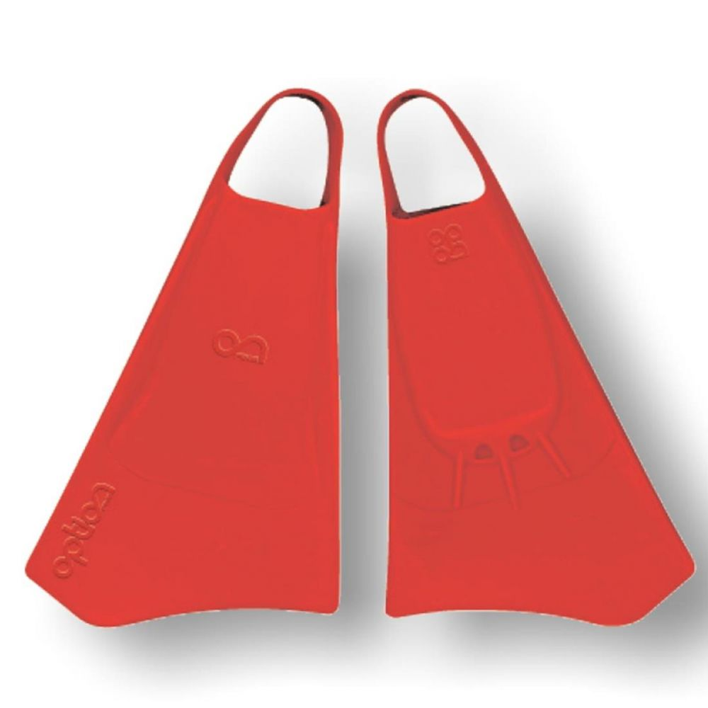 Bodyboard Flossen OPTION  S  38-40 Red