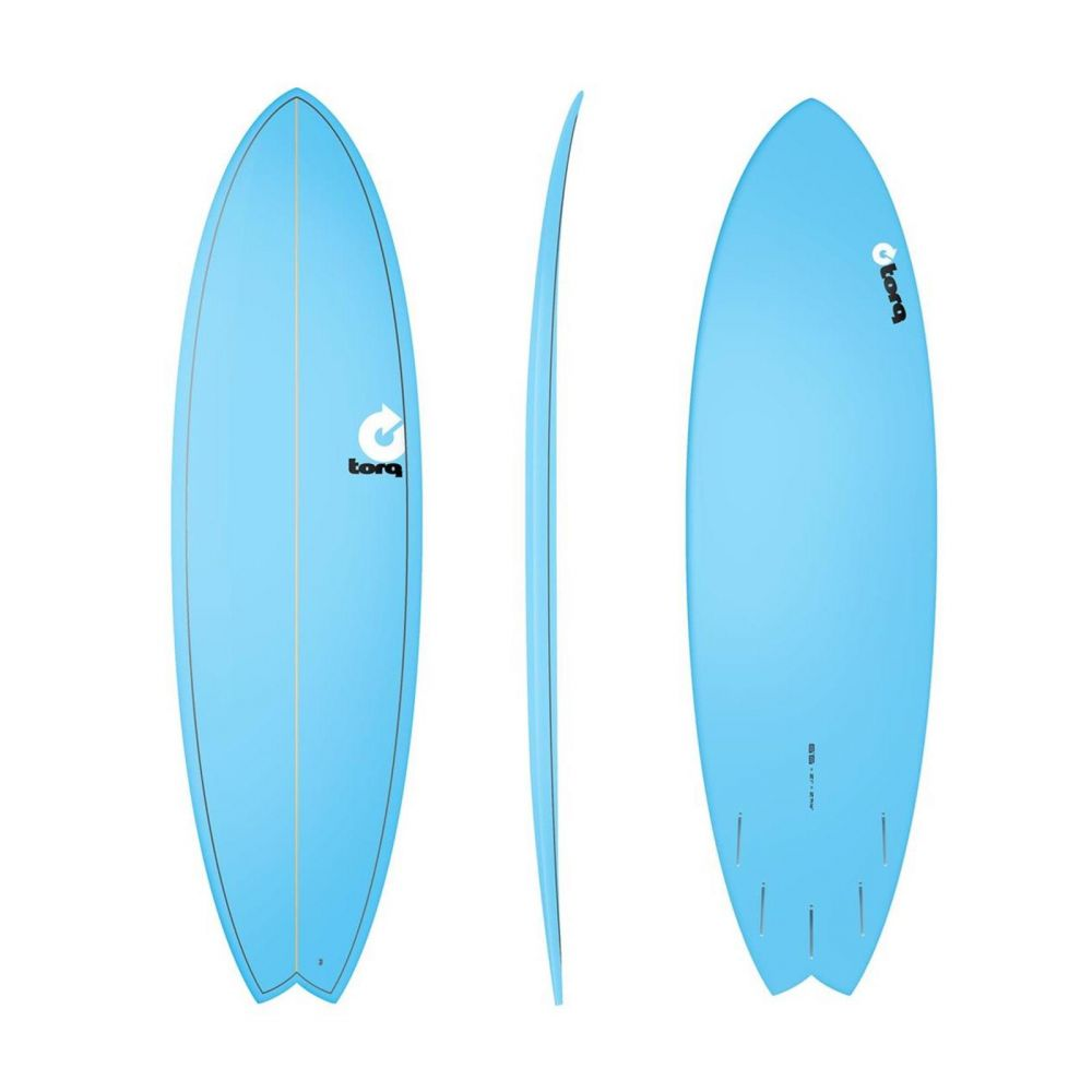 Surfboard TORQ Epoxy TET 6.6 Fish  Blue