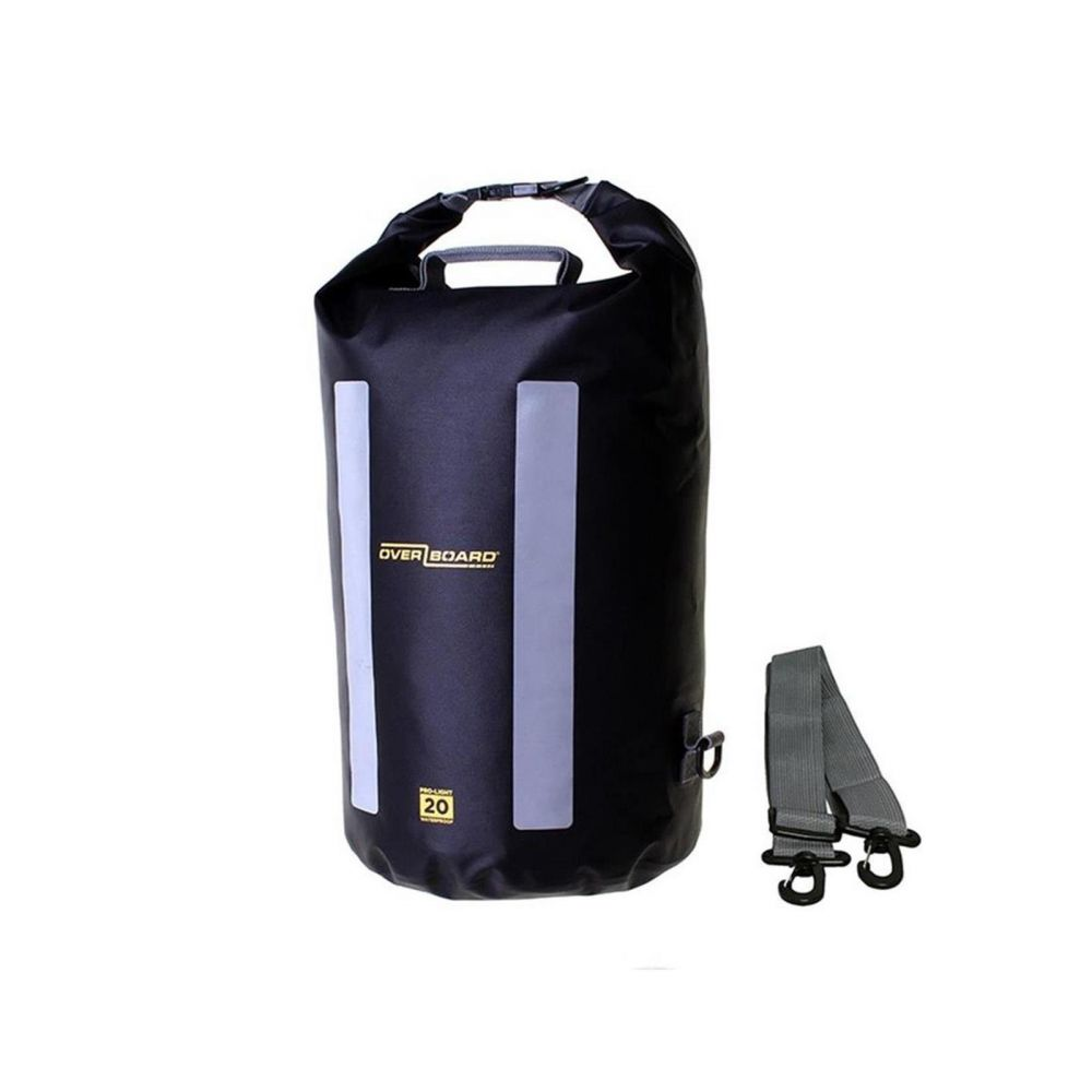 OverBoard wasserdichter Packsack LIGHT 20 L Schw