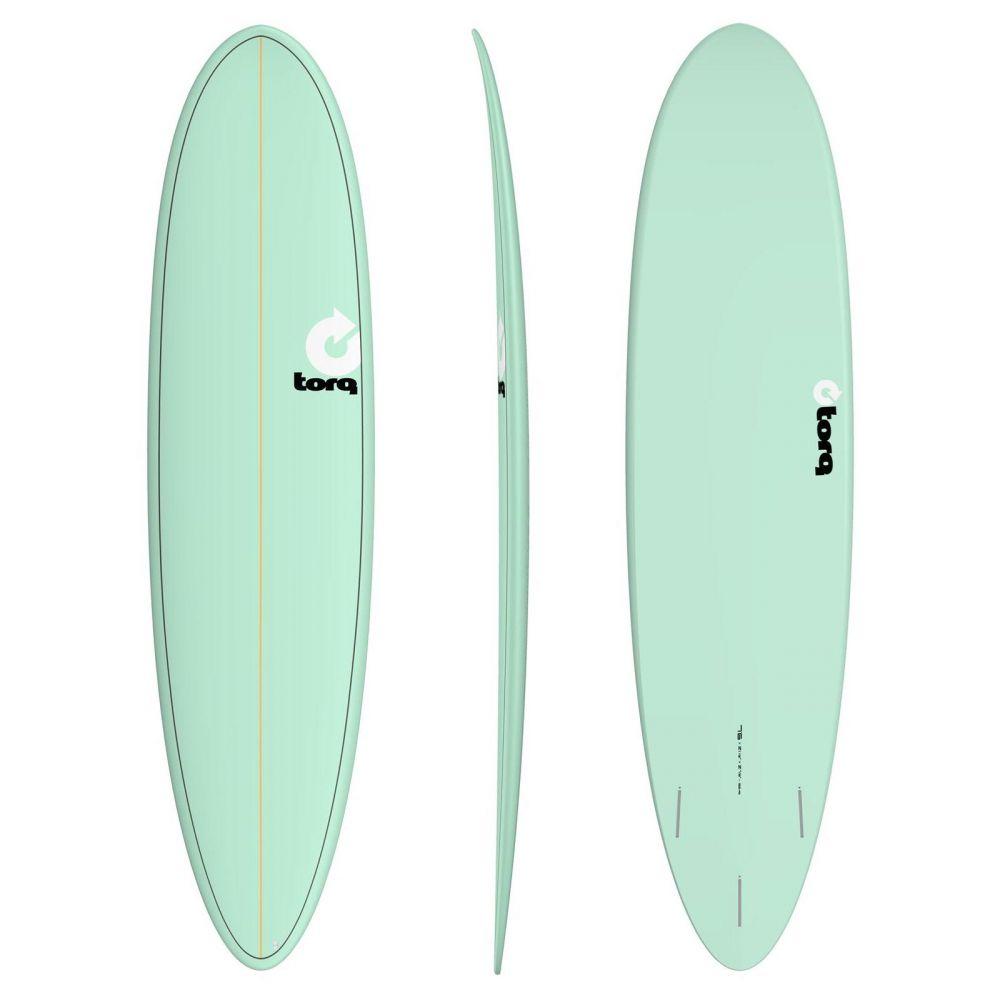Surfboard TORQ Epoxy TET 7.6 Funboard Seagreen