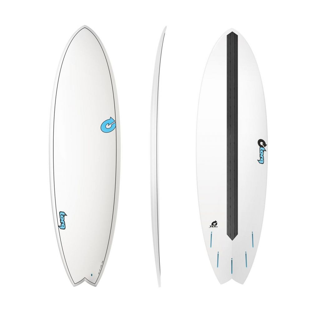 Surfboard TORQ Epoxy TET CS 6.6 Fish Carbon