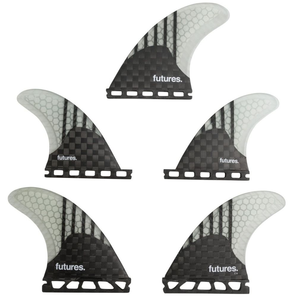 FUTURES Quad Thruster 5 Fin Set V2F6 GEN Series