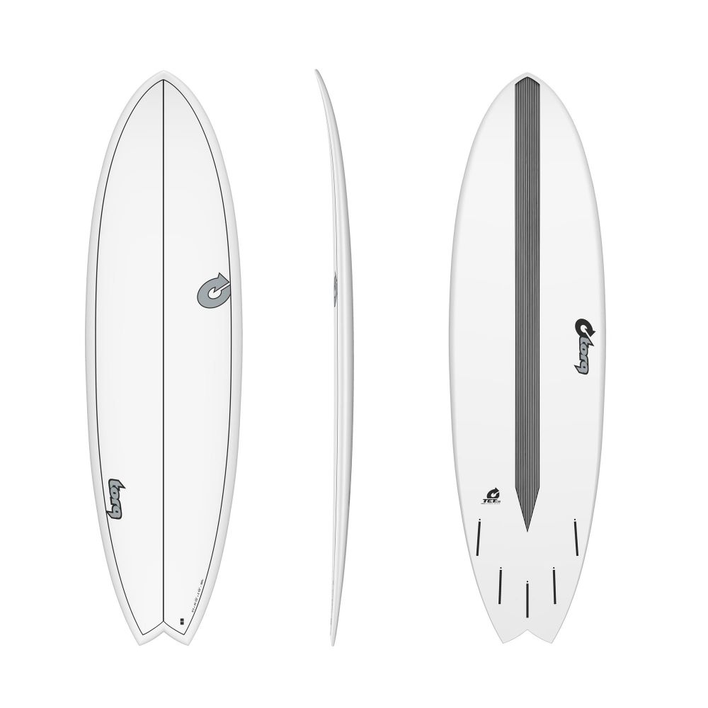 Surfboard TORQ Epoxy TET CS 6.3 Fish Carbon