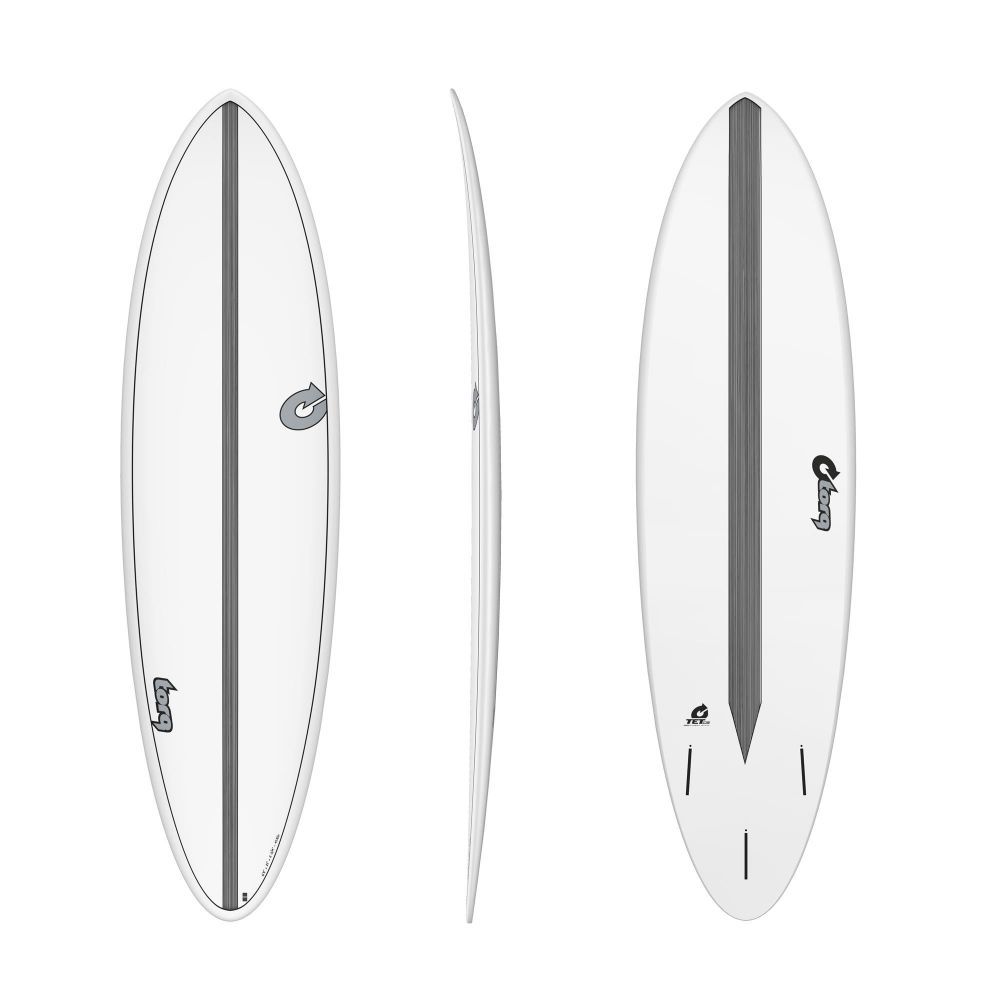 Surfboard TORQ Epoxy TET CS 6.8 Funboard Carbon