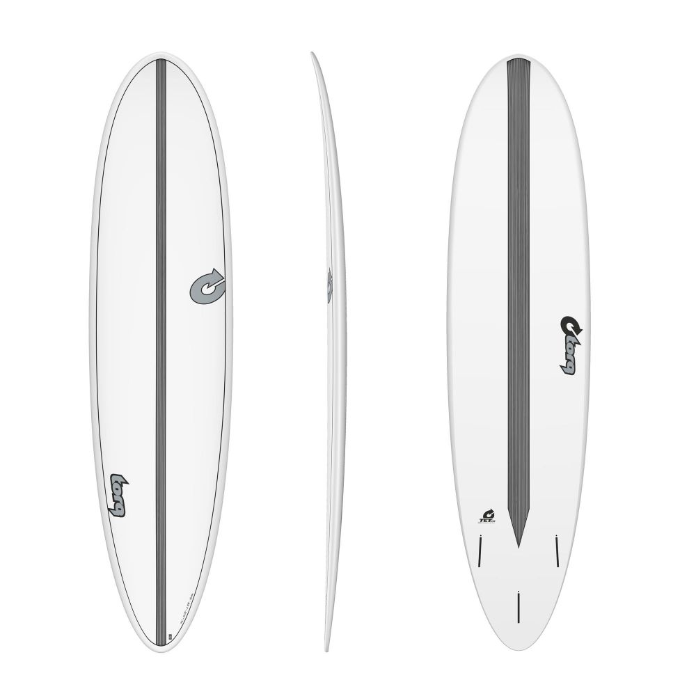 Surfboard TORQ Epoxy TET CS 7.6 Funboard Carbon