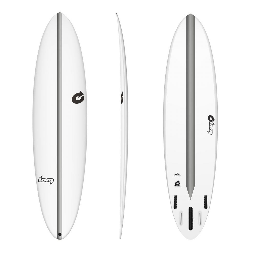 Surfboard TORQ Epoxy TEC Chopper 7.2
