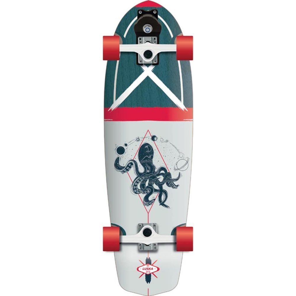 FLYING WHEELS Surf Skateboard 31,5 Luska
