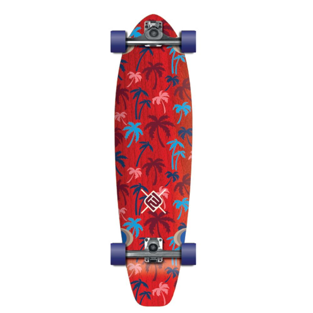 FLYING WHEELS Surf Skateboard 35 Palm