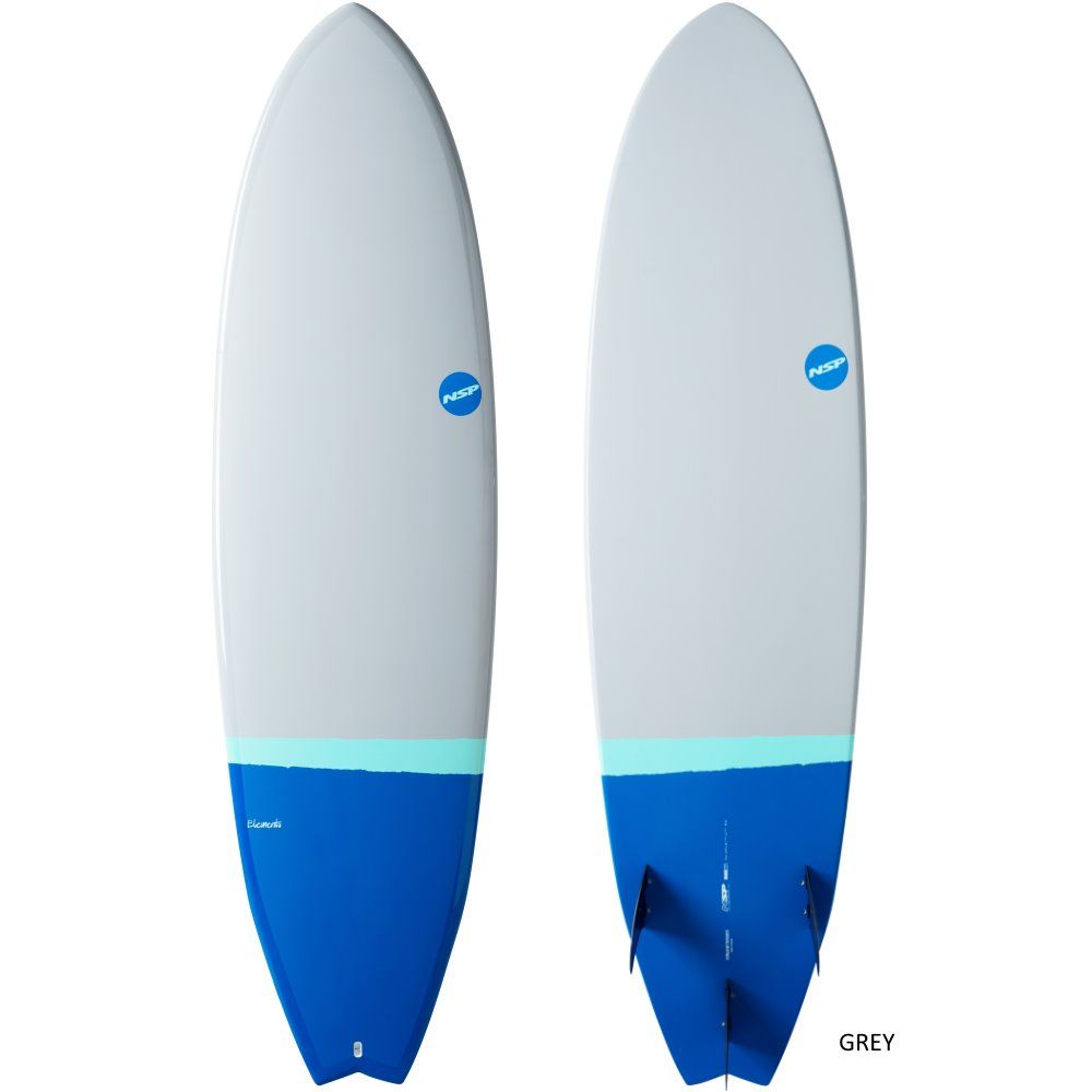 NSP Surfboard Elements HDT Fish