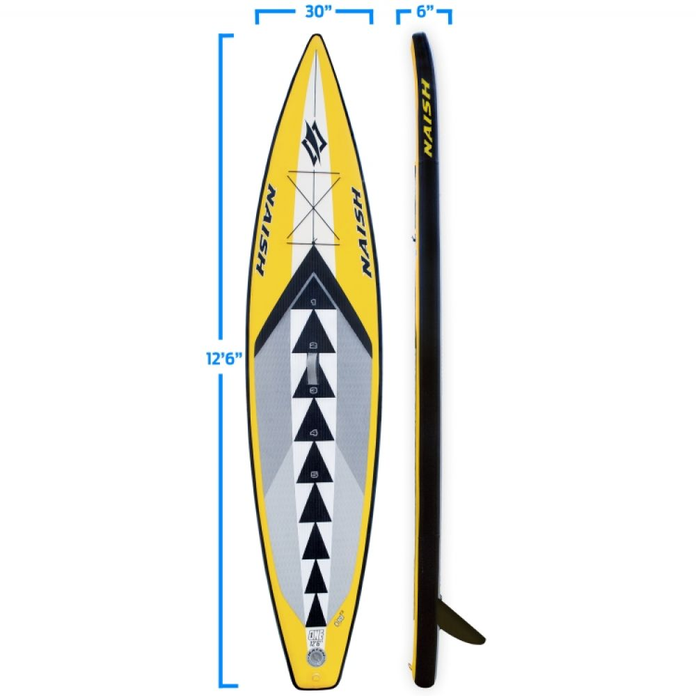 Naish One Air 12.6 inflatable SUP N1SCO