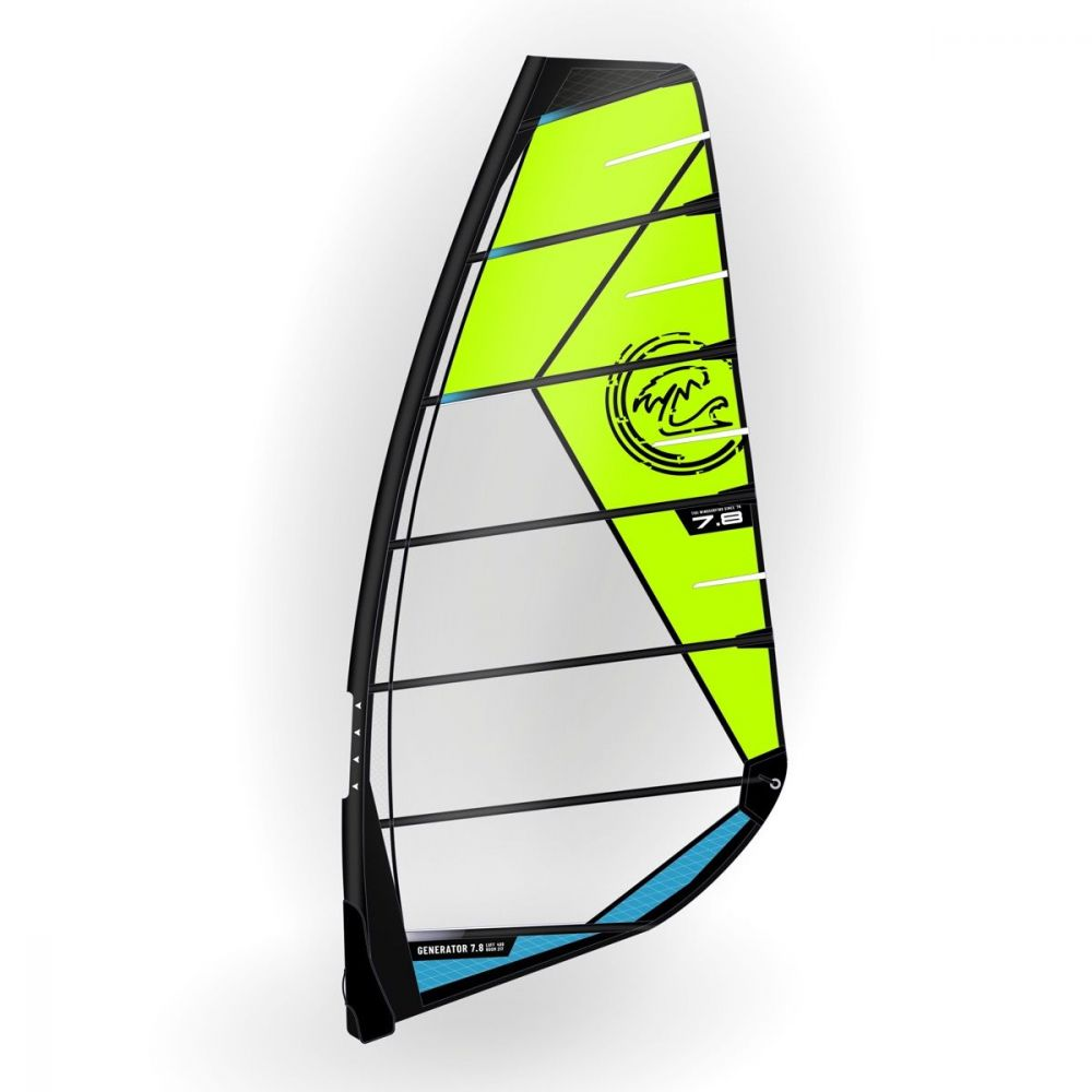 Wanna Generator Freeride Nocam Windsurf Segel