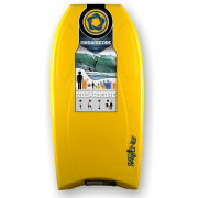 BOARDCORE Bodyboard Raven 38 Gelb