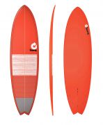 Surfboard TORQ Epoxy TET 7.2 Fish Lines