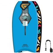 FLOOD Bodyboard Dynamx Stringer 44 Blue Tribal