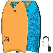 FLOOD Bodyboard Streak 39 Orange Blau Memphis