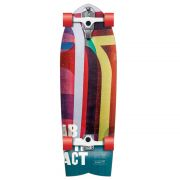 FLYING WHEELS Surf Skateboard 32 Abstract