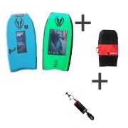 NMD Bodyboard Element PE Set mit Leash und Bag